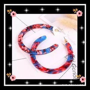 Jewelry - Super cute bohemian acrylic earrings
